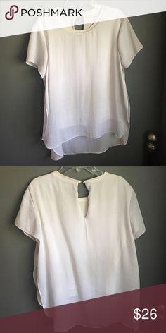 Rachel Roy top Rachel Roy two layer top - worn twice Rachel Roy Tops Blouses