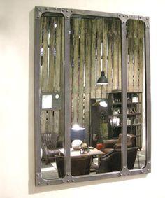 Miroir barbier fly salle de bains pinterest chic for Miroir atelier chehoma