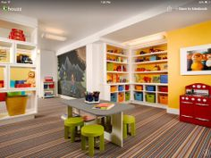 Amazing kids play room