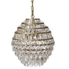Gold Tear Drops Chandelier £249 (large)