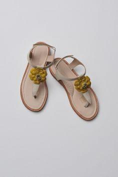 Elephantito Flower Thong Sandal