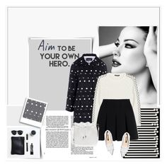 """""""Sin título #2353"""" by liliblue ❤ liked on Polyvore featuring мода, CABARET, Boutique Moschino, Alexander McQueen, Alexander Wang и Rupert Sanderson"""