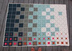 Smukt hæklet tæppe fra Lutter Idyl