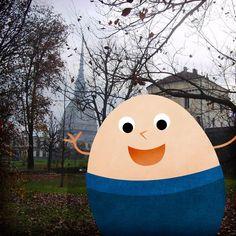 Sempre in giro il nostro ovetto! Da dove ci manda oggi il suo #EggSelfie?