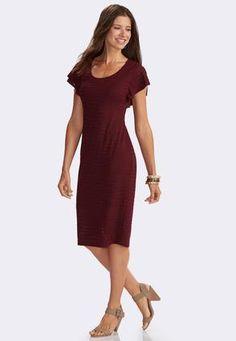 Cato Fashions Plus Size Long Sleeve Swing Dress CatoFashions