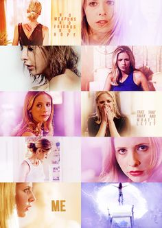 Buffy: No weapons, no friends, no hope. Take that away and what's left? Me. #btvs