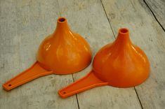Vintage 70s Tupperware Brand Funnels/RV/Camping/Kitchen