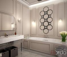 слоеный интерьер, слоеный интерьер   , ванная, просмотров 107