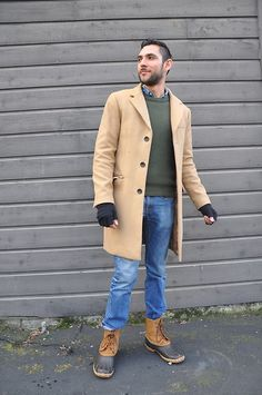 Get this look: http://lb.nu/look/8607347  More looks by Hector Diaz: http://lb.nu/hector_diaz_mtz  Items in this look:  Club Monaco Camel Coat, Club Monaco Denim Shirt, J. Crew Knit Sweater, Levi's® Jeans, , Sorel Duck Boots   #casual #chic #classic #camelcoat #clubmonaco #duckboots #jcrew #jeans #style
