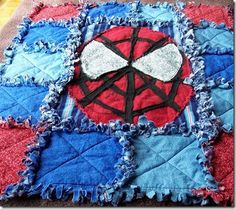 spiderman quilt
