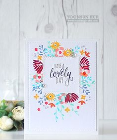 HAVE A LOVELY DAY! by Yoonsun at @studio_calico