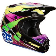 Tori!  Fox V1 Race Helmet - Fox Racing