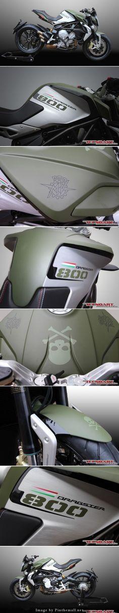 MV Agusta Dragster 800, Special edition | Tecnoart - Ivan Giorgetti