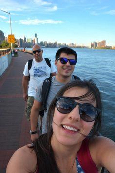 13 horas caminhando em NY