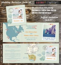 Destination Wedding Invites