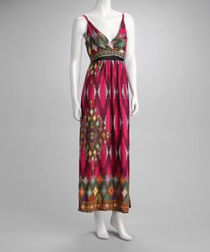 Take a look at this Fuchsia Maxi Dress by Just Love on #zulily today! $16.99