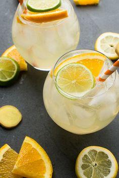 White Wine Sangria - a refreshing drink recipe