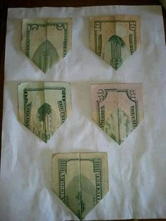 Conspiracy or coincidence, If looked at closely, the five dollar bill represents the twin towers, the ten is after the planes collided, the twenty shows a building collapsing, the fifty is the dust and smoke, and the hundred is a new beginning. (Interesting)