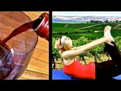 Yoga and wine.....