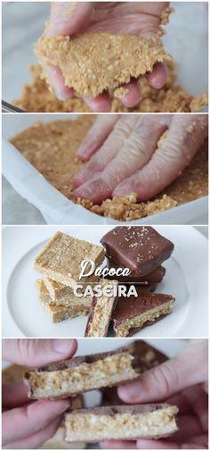 COMO FAZER PAÇOCA CASEIRA COM APENAS 3 INGREDIENTES #paçoca #caseira #receita #gastronomia #culinaria #comida #delicia #receitafacil