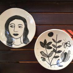Ceramic plate by Maheswari Janarthanan