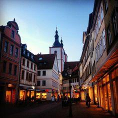 Fulda, Germany a beautiful littlecity in Hesse Germany