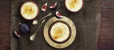 Riisipuurobrûléessä yhdistyvät jouluisa riisipuuro ja jälkiruokaklassikko Crème brûlée. N. 0,55€/annos.