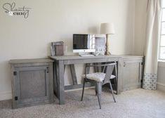 Free Woodworking Plans - Desk DIY