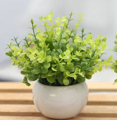Desk Artificial Flower Mini Potted Ornaments Green Plant Artificial Flower Pots (Style-1) ** Be sure to check out this awesome product.
