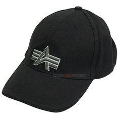 Кепка Big A Cap Alpha Industries (чорна) Наявність: під замовлення  Ціна: 20 $