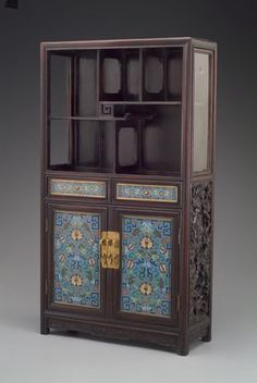"Chinese (Qing Dynasty), ""Cabinet,"" about 1800; Indianapolis Museum of Art, Gift of Mrs. George Phillip Meier, 41.12"