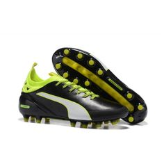 info for eaed2 7f28e Kopacky Puma evoTOUCH Pro AG Černá Zelená Bílý Football Outfits, Football  Shoes, Soccer Cleats