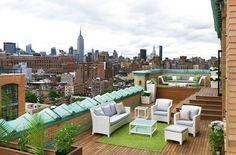 Ideas inspiradoras para la decoración de terrazas en áticos