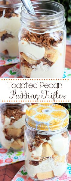 Toasted Pecan Puddin