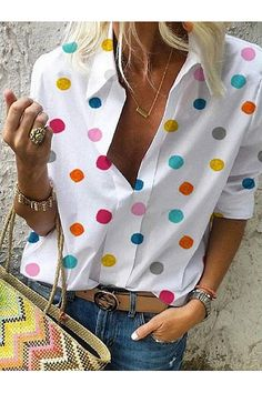 Shop Floryday for affordable Casual Blouses. Floryday offers latest ladies' Casual Blouses collections to fit every occasion. Long Blouse, Short Sleeve Blouse, Long Sleeve Shirts, Loose Shirts, Cute Tops, Printed Blouse, Printed Shirts, Half Sleeves, Shirt Blouses