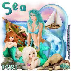 "MI RINCÓN GÓTICO: CT for GoF Designs, ""Sea World"""
