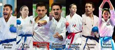 Karate stars thrilled by the defining moments for the sport