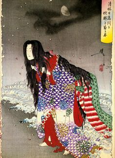 Yoshitoshi #woodblock (36 ghosts)