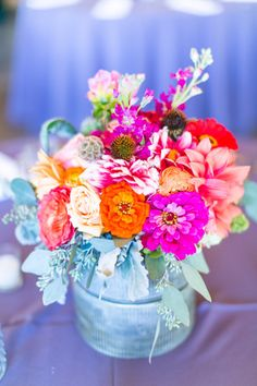 Wild flowers: http://www.stylemepretty.com/north-carolina-weddings/2014/04/11/rustic-meets-preppy-north-carolina-wedding-at-claxton-farm/ | Photography: Stephanie Yonce - http://stephanieyoncephotography.com/