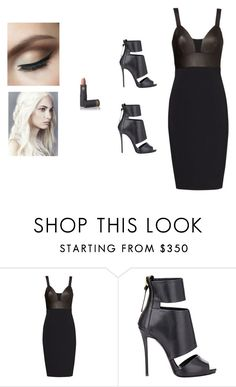 """""""""""have you lost your damn mind"""" tony stark"""" by rxmanoff ❤ liked on Polyvore featuring Narciso Rodriguez, Giuseppe Zanotti and Lipstick Queen"""