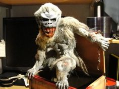 """Crate Beast from """"Creepshow"""" made by Tom Savini and Jayco Hobbies"""