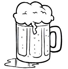 Beer Spill On Table Coloring Pages : Best Place to Color Online Coloring, Coloring Pages For Kids, To Color, Colouring Pages, Colour Images, Reindeer, Beer, Clip Art, Embroidery