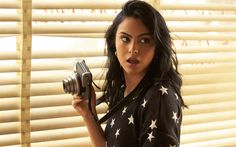 Download wallpapers Camila Mendes, 2017, Hollywood, american actress, beauty, brunette
