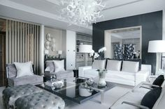 Elegant Neutral Sofas In Living Room Projects By Kelly Hoppen | Kelly Hoppen is a famous interior designer based in London and known for creating elegant spaces with a neutral palette. Here are some of the designer's most beautiful living room projects with modern sofas to inspire you! Read more: http://modernsofas.eu/2016/06/27/elegant-neutral-sofas-living-room-projects-kelly-hoppen/