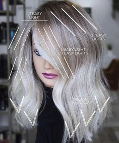 Hair Cutting Techniques, Hair Color Techniques, Spring Hairstyles, Pretty Hairstyles, Brown Hair Balayage, Blonde Balayage, Hair Color Placement, Redken Hair Color, Hair Questions