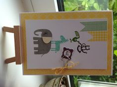Stampin Up Zoo Babies I love this idea.. Thanks...