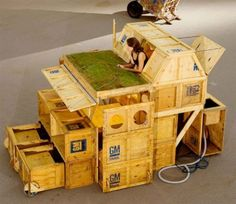 Plug and Live System, l'architecture du recyclage