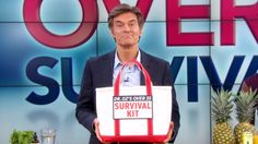 Your After-35 Survival Kit, Pt 1: Dr. Oz shares his definitive guide to help you beat stress, wrinkles, belly fat and more!