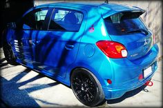 2015 Mitsubishi Mirage Mitsubishi Mirage, Evolution, Van, Vehicles, Blue, Super Cars, Vans, Cars, Vehicle