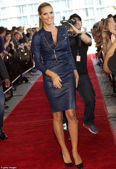 Heidi Klum #Fashion #Women_Style